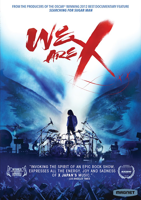 "GIVEAWAY: X JAPAN's ""WE ARE X"" on DVD (USA)"