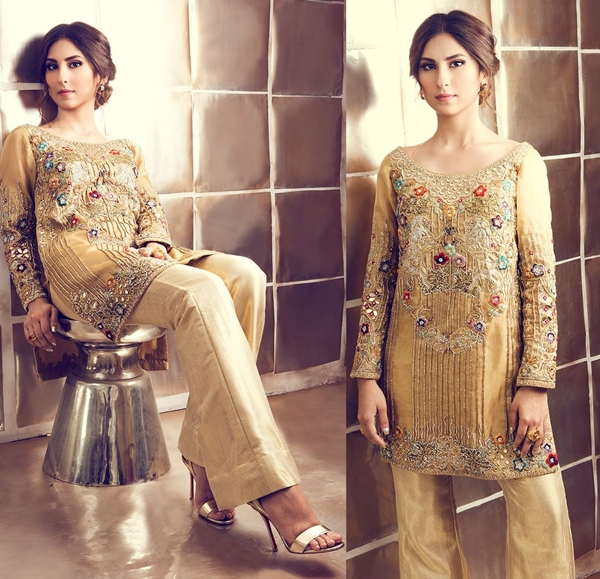 Tena Durrani  Formal Wear Dresses Collection 2017