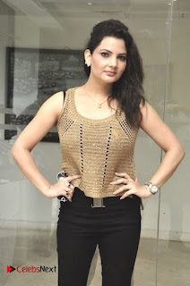 Actress Madhavi Sharma Pictures in Black Jeans at Deccan Film Society Launch  0014.jpg