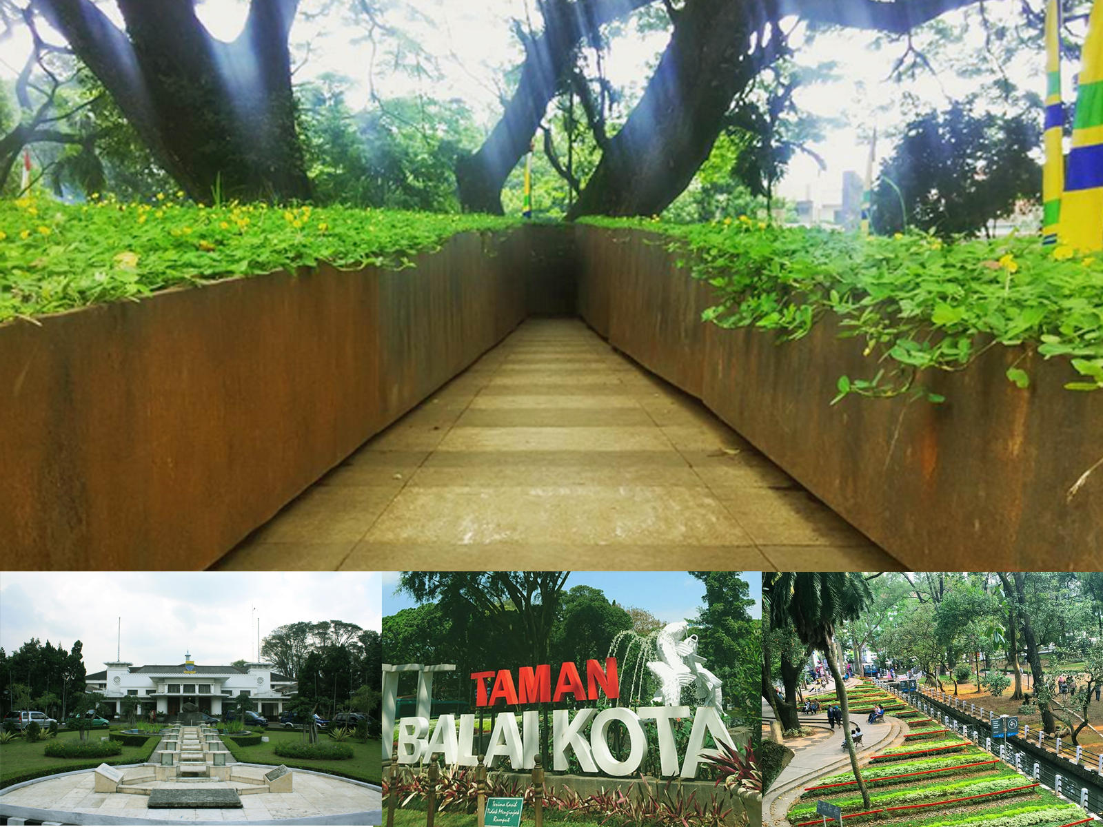 Area Balai Kota Bandung Tempat Nongkrong Dan Foto Selfie Wisata