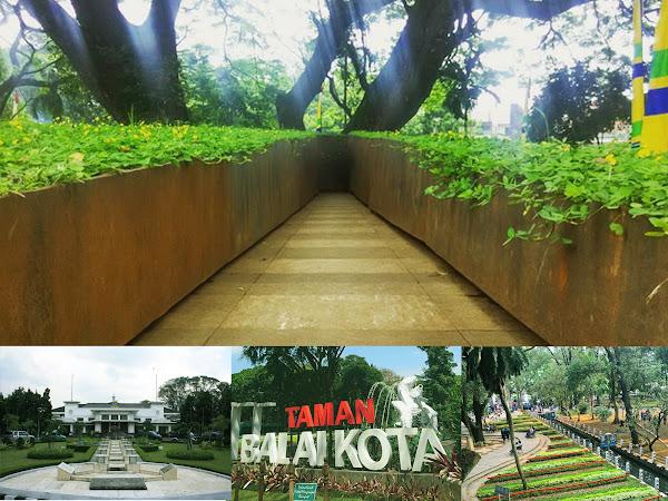 Taman Labirin Balai Kota Bandung
