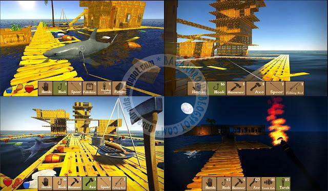 Game Raft survival simulator Apk terbaru Full Android