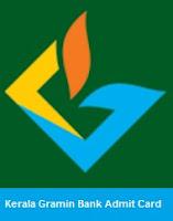 Kerala Gramin Bank Admit Card