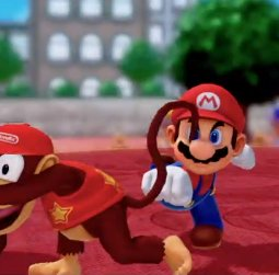 Super Mario Party Slaparazzi Diddy Kong violence