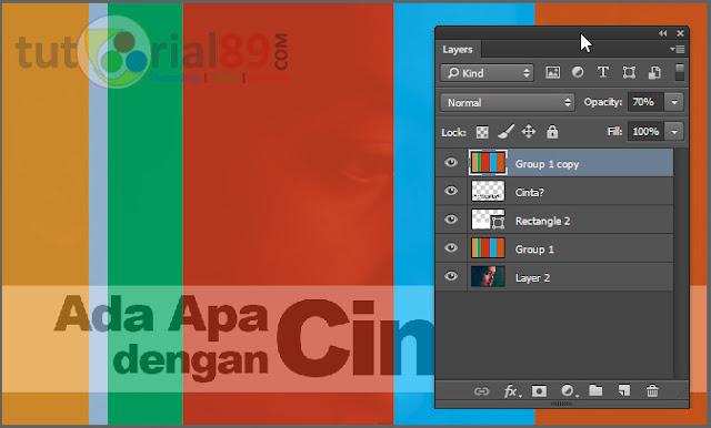 Cara membuat efek poster AADC dengan photoshop