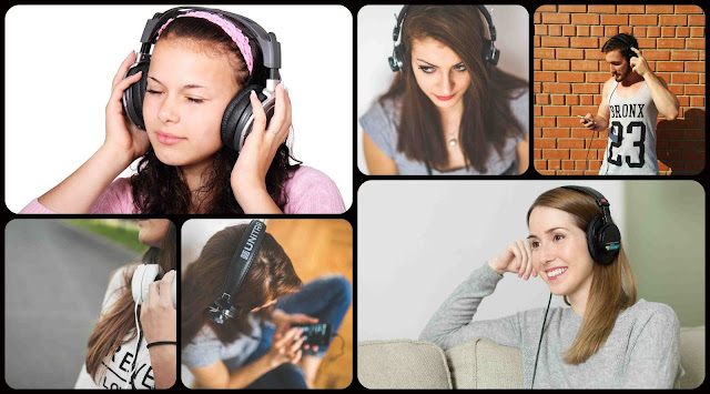 Listening to Music Too Loud Can Damage Hearing