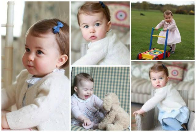 Princesa Charlotte faz aniversário de um ano