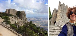 castelo venus erice guia brasileira roma - Trapani, o sal e o vinho.