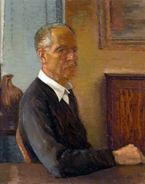 Lynton Harold Lamb, Self Portrait, Portraits of Painters, Lynton Harold, Fine arts,  Harold Lamb, Portraits of painters blog, Paintings of Lynton Harold, Painter  Lynton Harold