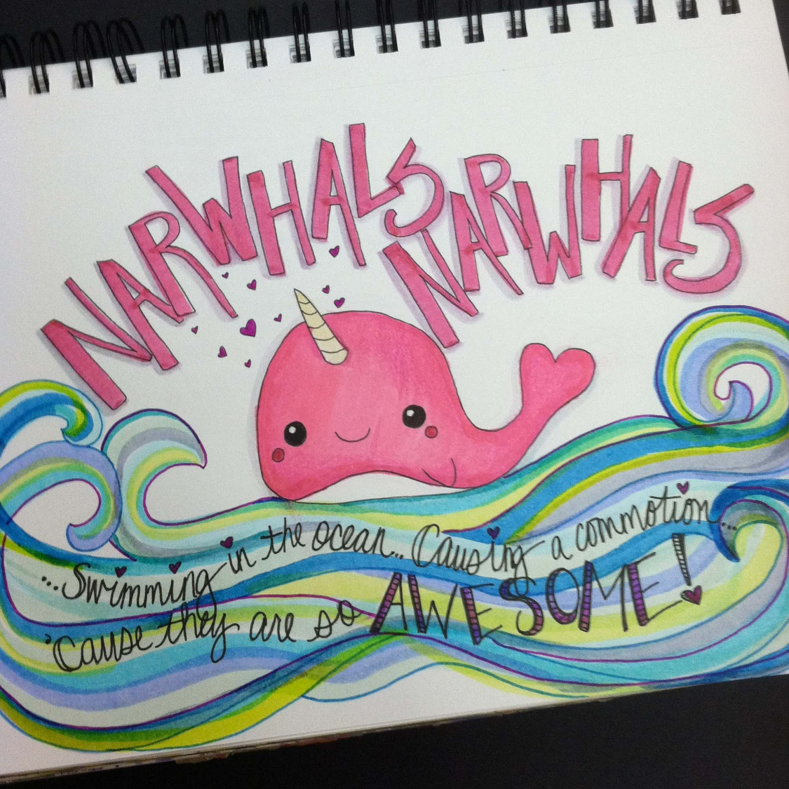 All The Good Blog Names Were Taken Because Narwhals