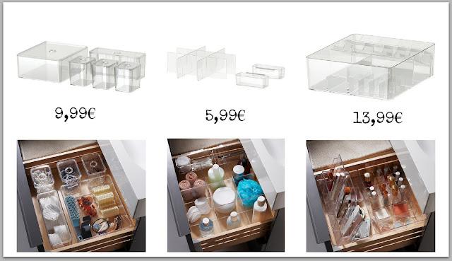 1 rangement make up en acrylique the melissa diaries. Black Bedroom Furniture Sets. Home Design Ideas