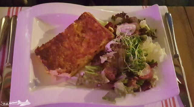 Restaurante Pfistern, Lucerna, Suíça. Quiche