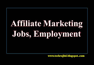 Affiliate Marketing Jobs, Employment