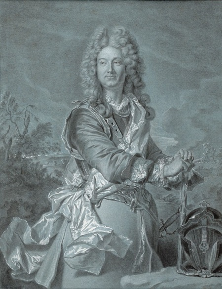 Hyacinthe Rigaud, Portrait of a Marshal of France, ca. 1740