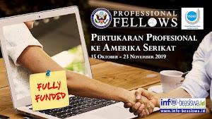 Fully Funded: Program Pertukaran Profesional ke Amerika Serikat