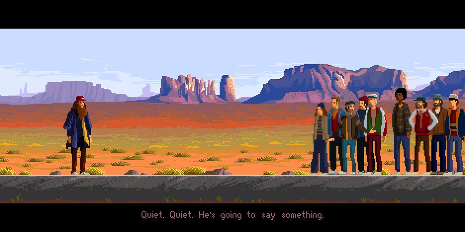 Forrest Gump - Pixel Art