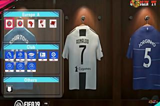 Download PES Mod FIFA ISO Full Size With Camera Jauh New Kits Fantasi & New Grass