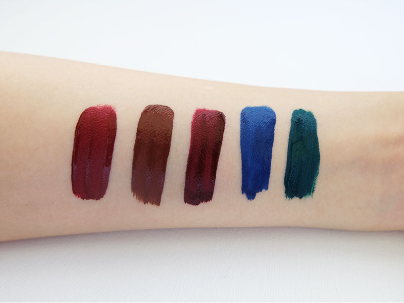 ColourPop Ultra Matte Lip Darks Review featuring Rooch, Limbo, LAX, Jellies, Dr. M Swatches