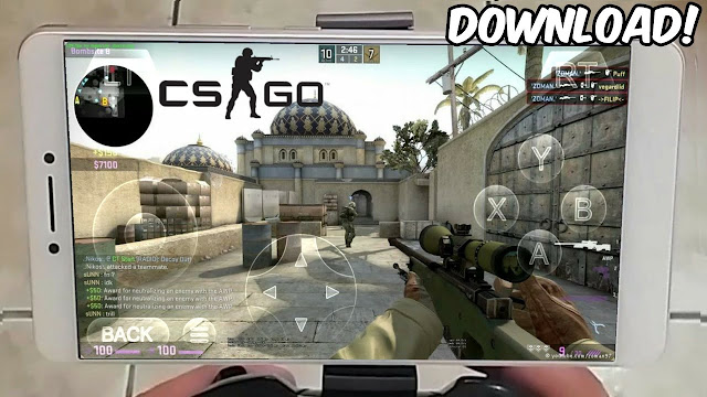 تحميل لعبة CS GO MOBILE 2 MOD للاندرويد بحجم صغير جداا  ONLINE