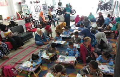 Lomba Mewarnai dan Fashion Show Bersama Anak PAUD TK Al Fatiq
