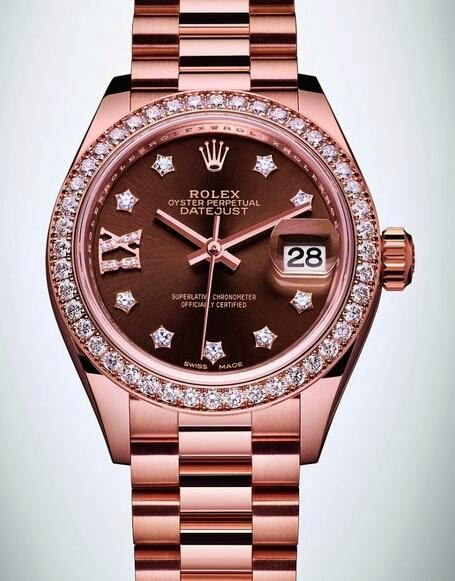 cdcc88c9a1c Best-selling Watches Recommend  Rolex Lady-Datejust 28 Montre or Everose
