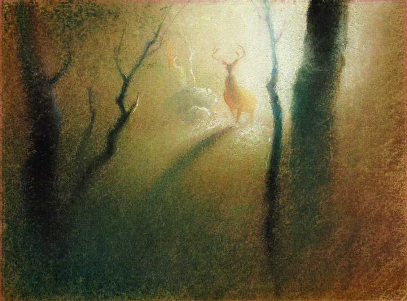 Pastel Illustrations of Tyrus Wong.