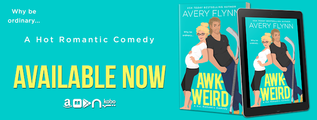 Release Blitz- Awk-Weird (Ice Knights Book 2) by Avery Flynn