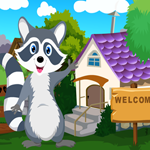 Games4King Cute Raccoon R…