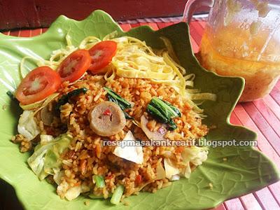 Resep Nasi Goreng Jawa Spesial Bumbu Baceman Bawang Putih