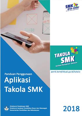 Download Buku Panduan Penggunaan Aplikasi Takola SMK Tahun 2018
