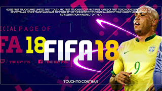 FTS Mod FIFA 2018 by The Egy Fts Android
