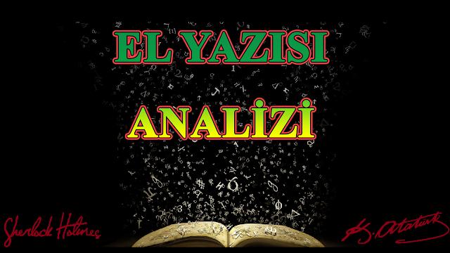 el yazısı analizi