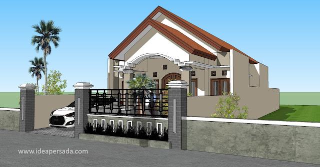 jasa gambar rumah klaten soloraya