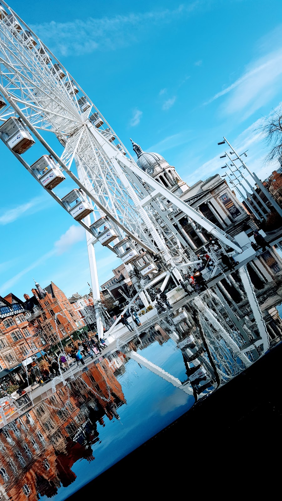 Market Square Nottingham: The Wednesday Blog Hop