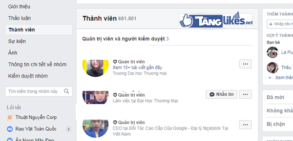 mua ban group facebook
