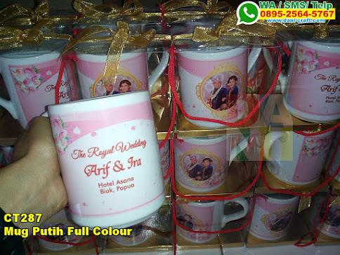 Grosir Mug Putih Full Colour