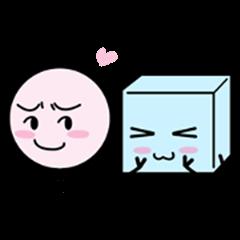 Happy Figure Couple