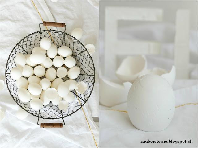 Eier giessen, Dekobuchstaben, Osterdeko, Duplo Giessform, Giessform selber machen, DIY Dekobuchstaben, Betonbuchstaben