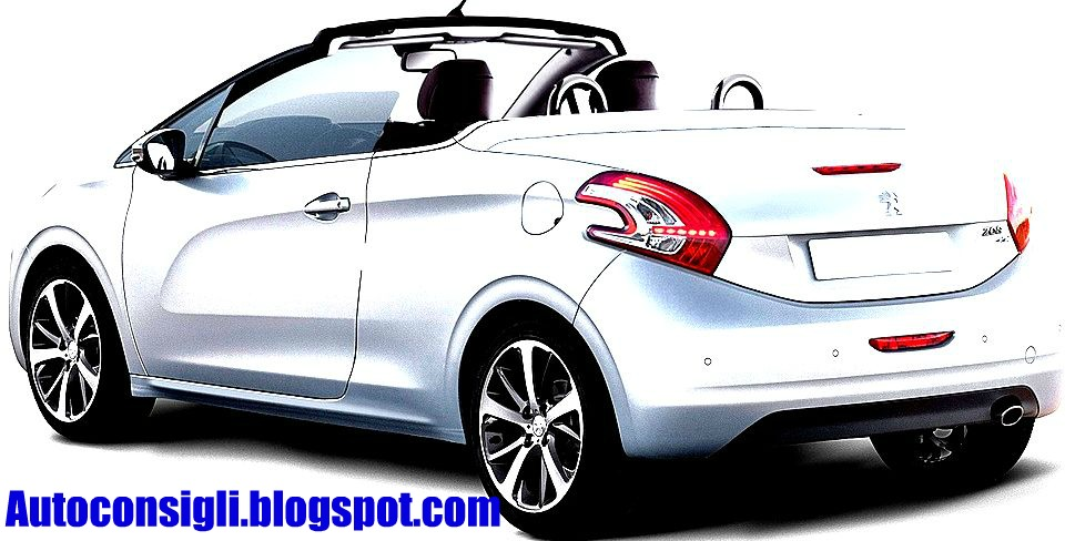 car al top 33 peugeot 208 coupe cabriolet futura variante a cielo aperto. Black Bedroom Furniture Sets. Home Design Ideas