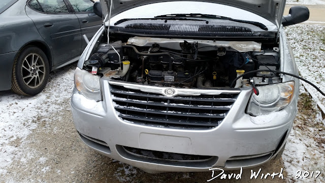 replace starter, car starter, chrysler town and country, dodge caravan