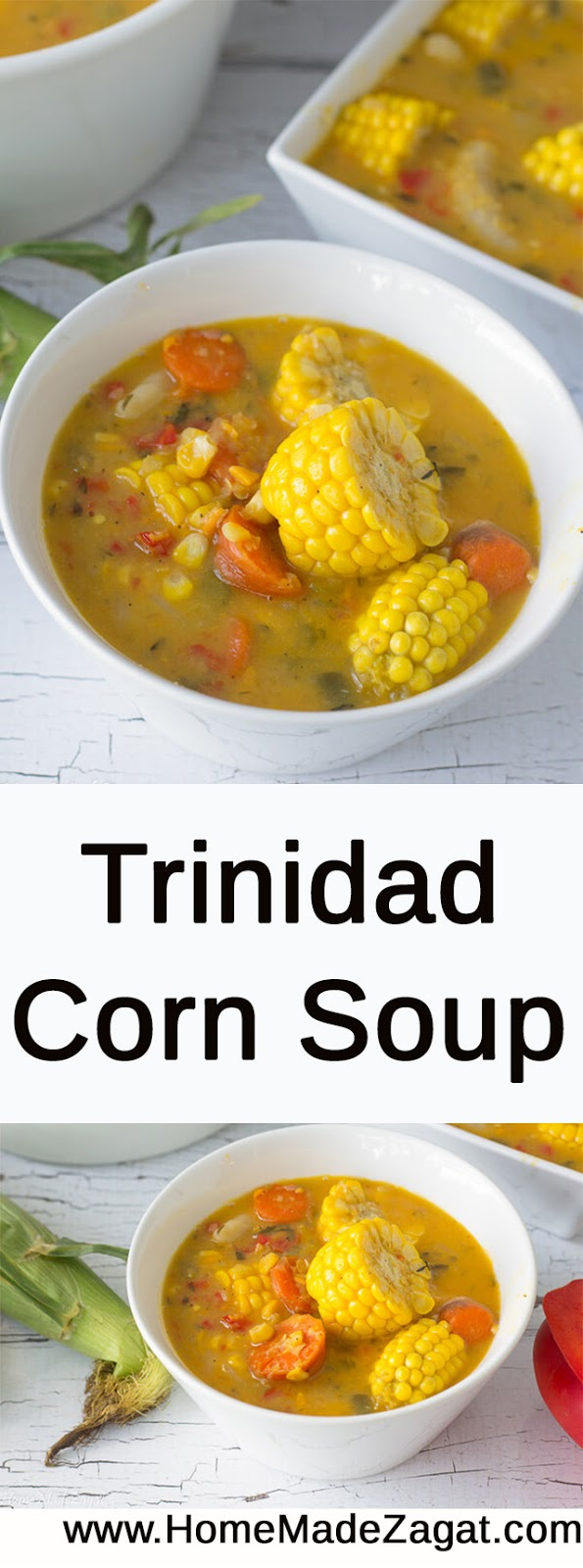 Trinidad Corn Soup Recipe