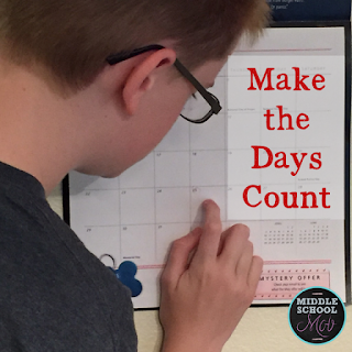 We're counting down to the last day of school, but how about we make the days count instead?