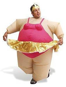 Inflatable Ballerina Costume  sc 1 st  Dress Up Costume Ideas & Dress Up Costume Ideas: Funny Inflatable Fancy Dress Costumes