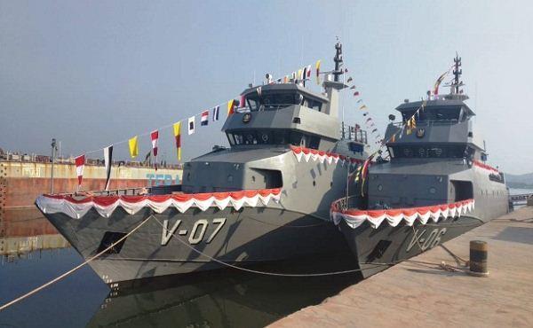 Shipnaming Ceremony 3 kapal perang TNI AL di Batam