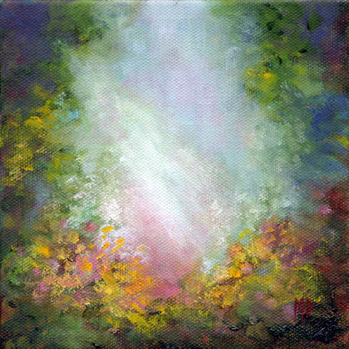 Marina Petro Adventures In Daily Painting Healing Light