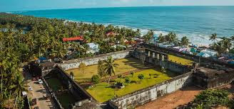 Anjengo fort at Varkala, Kerala