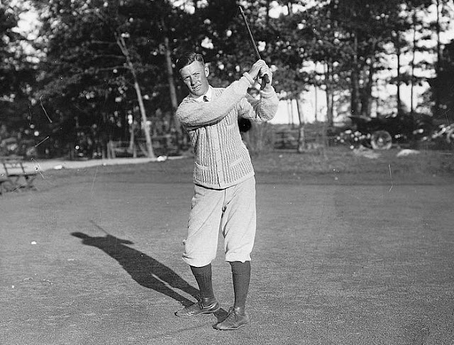 Chick Evans is one of the golfers who won both the US Amateur and US Open