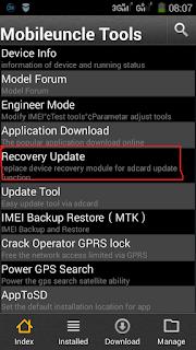 Cara Install TWRP Lenovo A536 Tanpa PC