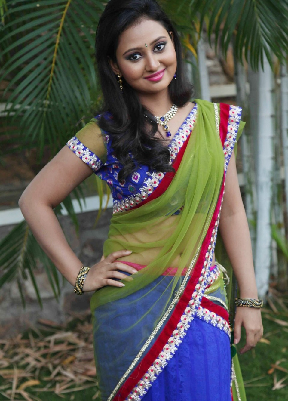 Amulya An Indian Sexy Hot Actress - Bangla Song Lyrics -9715