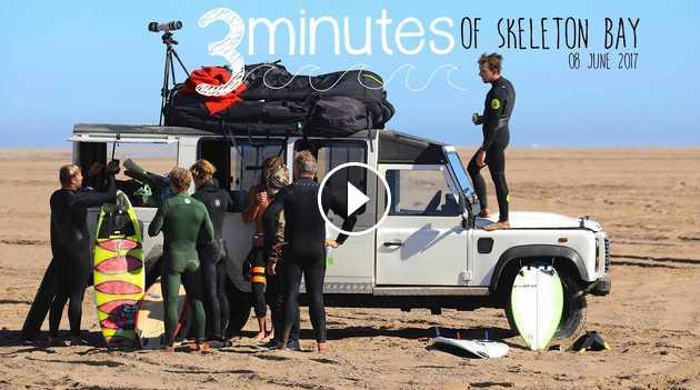 3 Minutes of Skeleton Bay 08 June 2017 DJI Mavic Pro Canon 5d Mark iv
